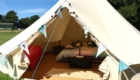 bell tent clamping